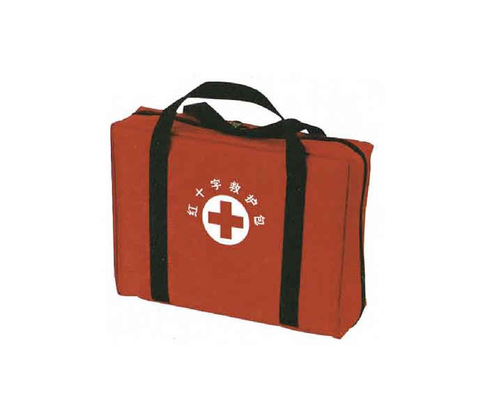 The red cross first aid kit