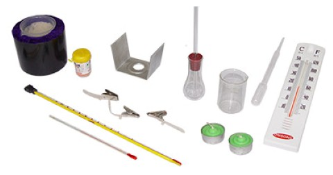 HEAT AND THERMOMETER KIT