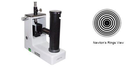 NEWTON'S RINGS APPARATUS